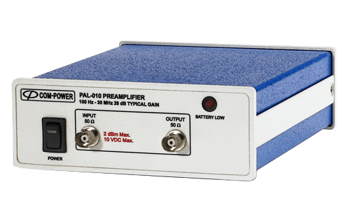 Complete Range of Preamplifiers For EMC Testing 100 Hz to 40 GHz