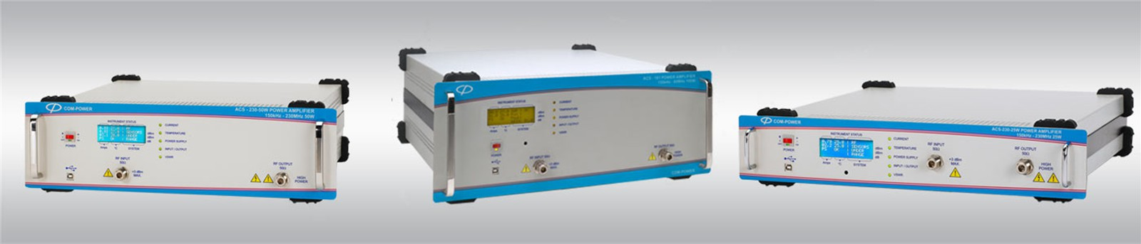 Power Amplifiers For 150 kHz to 230 MHz Frequency Ranges
