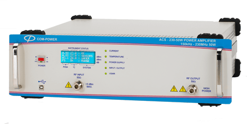 50 W Power Amplifier for Conducted Immunity