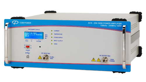 Broadband Power Amplifier 100 Watts for Conducted Immunity