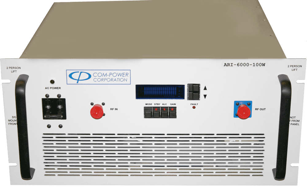 100 Watts Power Amplifier for Radiated Susceptibility to 6 GHz