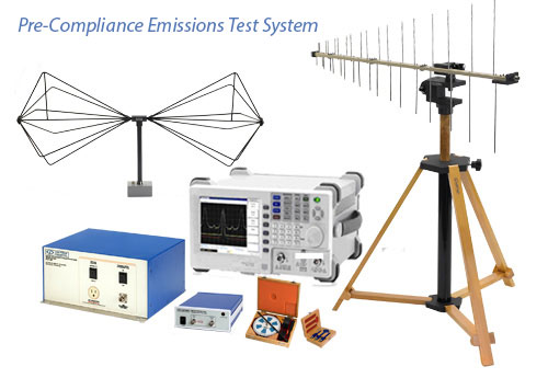EMC Pre-Compliance Emissions Test System