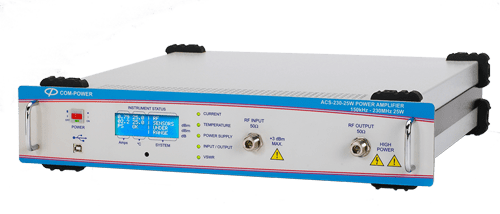 Broadband Power Amplifier: For Conducted Susceptibilty