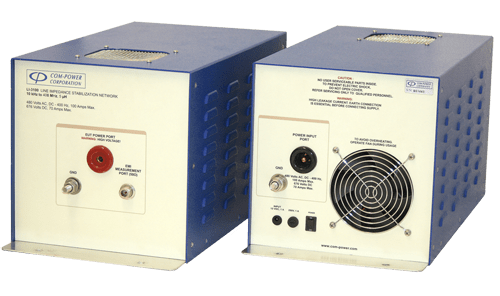 LISN (100 Amps) for DO-160, MIL-STD 461 & CISPR 25/16